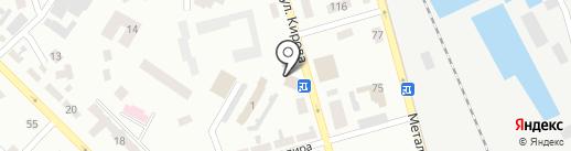 Водограй на карте Макеевки