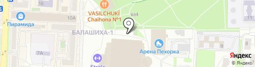 Скоро Буду на карте Балашихи