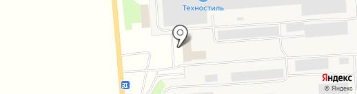 Киреевский завод легких металлоконструкций на карте Киреевска