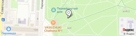 Детский городок на карте Балашихи