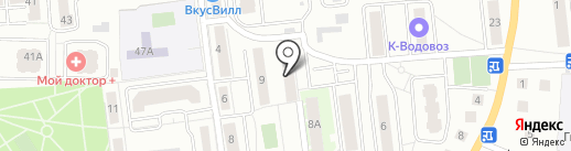 Автоматические системы на карте Ивантеевки