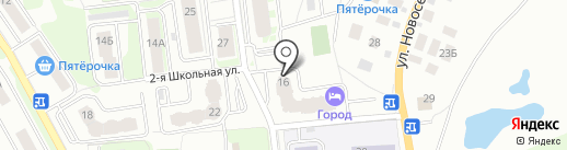 Салон мебели на карте Ивантеевки