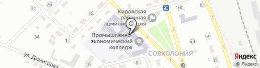 Общежитие на карте Макеевки