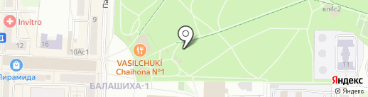 Monkey park на карте Балашихи