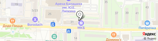 Центр паровых коктейлей на карте Балашихи