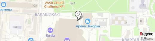 Show voice на карте Балашихи