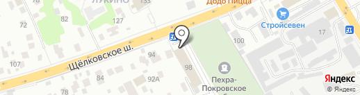 Платежный терминал, Московский кредитный банк, ПАО на карте Балашихи