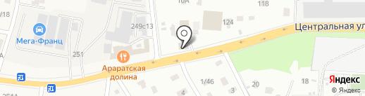 Магазин автомасел и автозапчастей на заказ на карте Балашихи