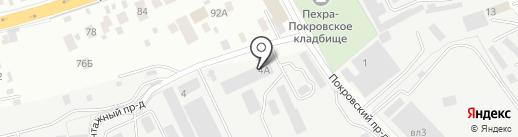 СпецМаш на карте Балашихи