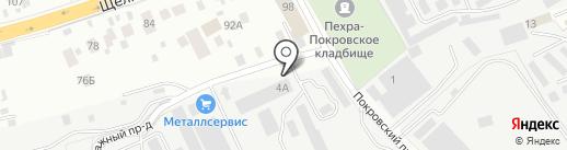 СЕРВИС-ТЕХ на карте Балашихи