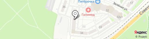Домус на карте Балашихи