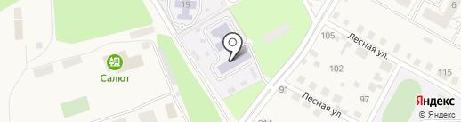 Детский сад №17 на карте Володарского