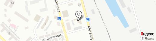 ГПСЧ, Государственная пожарно-спасательная часть №10 на карте Макеевки