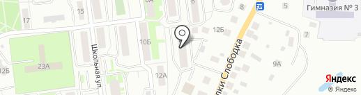 Почемучки на карте Ивантеевки