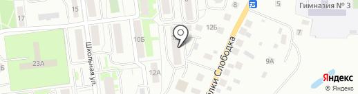 Стоматологическая поликлиника на карте Ивантеевки