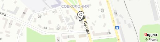 ТриZ на карте Макеевки