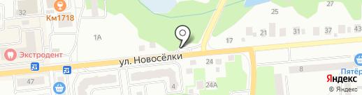 АЗС Лаки-Ойл на карте Ивантеевки