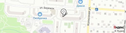 Канцлир на карте Ивантеевки