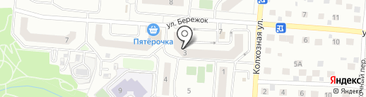 Заречная слобода на карте Ивантеевки