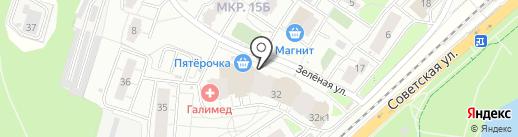 Mamma Mia на карте Балашихи