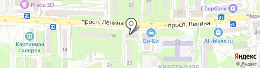 Domino`s Pizza на карте Балашихи