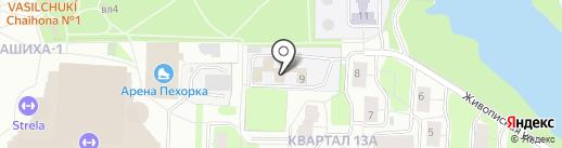 Газпром межрегионгаз Москва на карте Балашихи