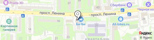 Святослава на карте Балашихи
