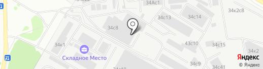 Город Мастеров на карте Некрасовки