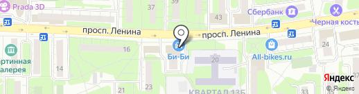 LADA Деталь на карте Балашихи
