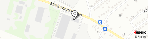 Гелиос на карте Макеевки