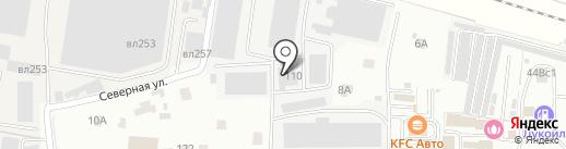 Люменоид на карте Железнодорожного