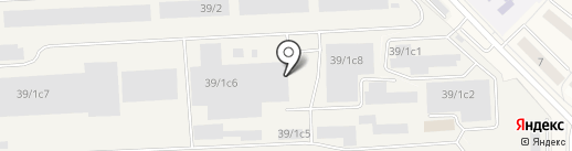 Лазурь на карте Томилино