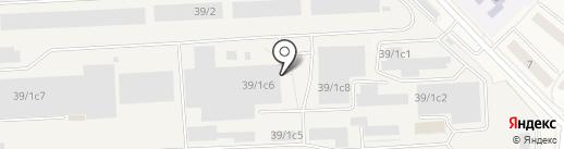 Гарант-Металл на карте Томилино