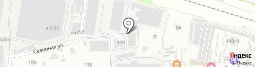 Квант-Дизайн на карте Балашихи