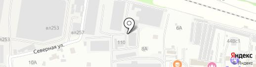 Люменоид на карте Балашихи