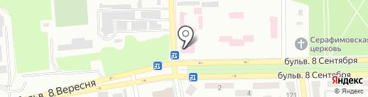 Амбулатория, Центр первичной медико-санитарной помощи №3 на карте Макеевки
