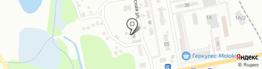 СТО на карте Макеевки