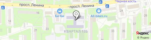 Средняя общеобразовательная школа №1 на карте Балашихи
