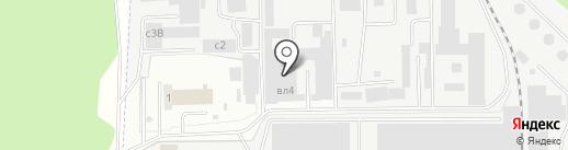 Бета-Куверт на карте Лыткарино