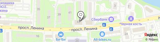 НоутбукоФ на карте Балашихи