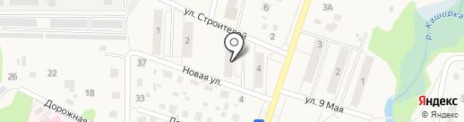 Почтовое отделение №142842 на карте Михнево