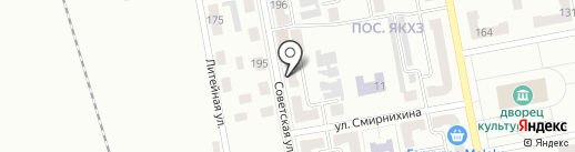 Весна, продовольственный магазин на карте Макеевки
