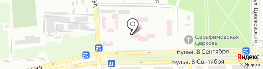 Детское клиническое территориальное медицинское объединение г. Макеевки в Донецкой области на карте Макеевки