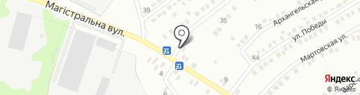 Строй Бетон на карте Макеевки