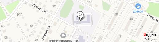 Володарская средняя общеобразовательная школа на карте Володарского