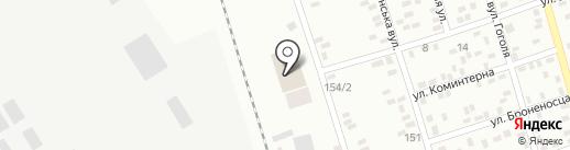 Коммунтранс на карте Макеевки