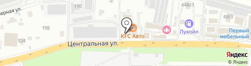 KFC на карте Балашихи