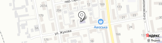Детский сад №15 на карте Макеевки