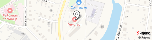 Гемотест на карте Михнево
