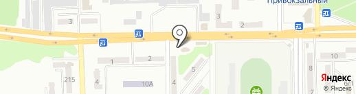 Магазин бытовой химии на карте Макеевки